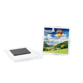 Magnet frigider pătrat (blank) - craftup.ro