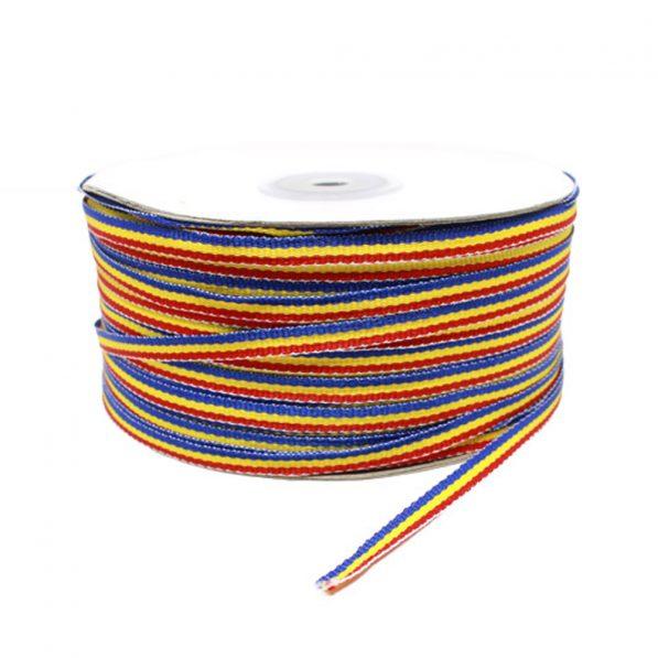 Bandă tricolor 0.4cm - craftup.ro