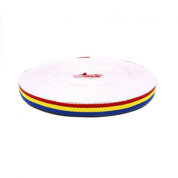 Bandă tricolor 1cm - craftup.ro