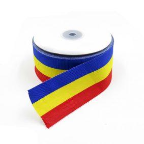 Bandă tricolor 5cm - craftup.ro