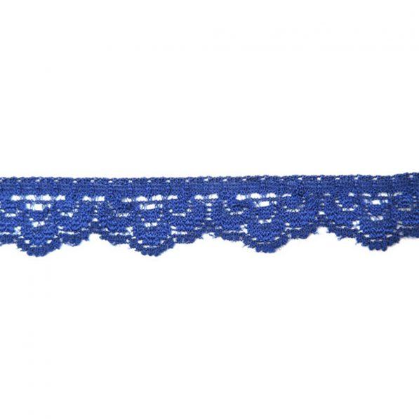 Dantela 15cm model 5540 albastru craftup.ro