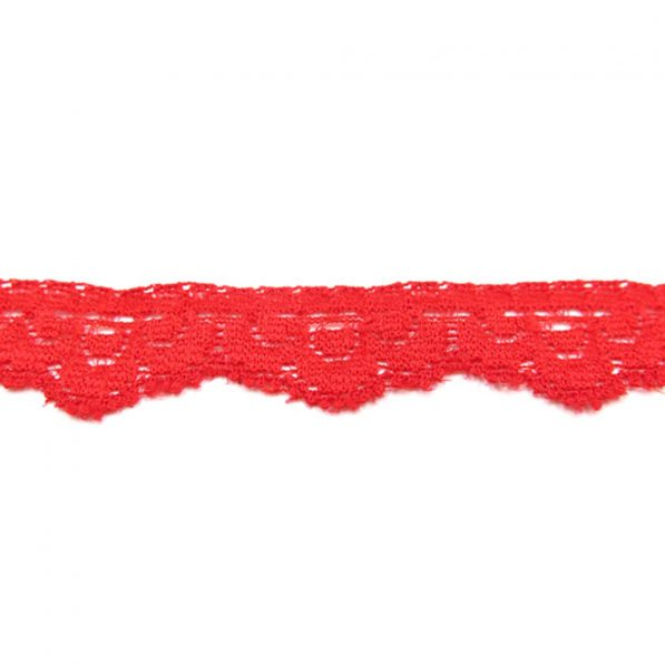 Dantela 15cm model 5540 rosu craftup.ro