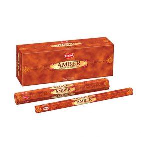 Betisoare parfumate HEM - AMBER - craftup.ro