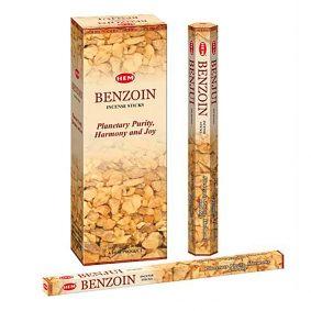 Betisoare parfumate HEM - BENZOIN - craftup.ro