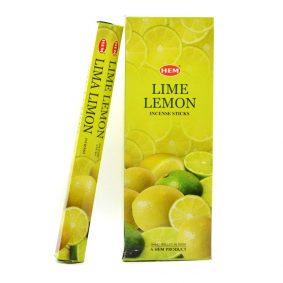 Betisoare parfumate HEM - LIME LEMON - craftup.ro