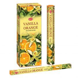 Betisoare parfumate HEM - VANILLA ORANGE - craftup