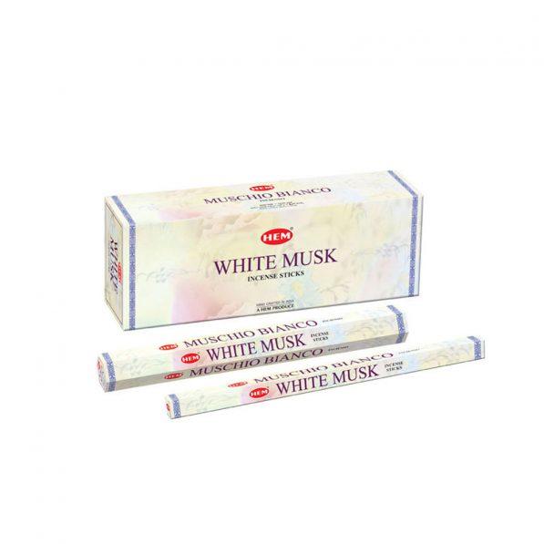 Betisoare parfumate HEM - WHITE MUSK - craftup.ro