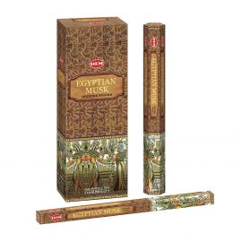Bețișoare parfumate HEM - Egyptian Musk - craftup.ro