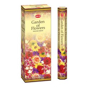 Betisoare parfumate HEM - GARDEN OF FLOWERS - craftup.ro