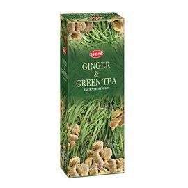 Betisoare parfumate HEM - GINGER AND GREEN TEA - craftup.ro