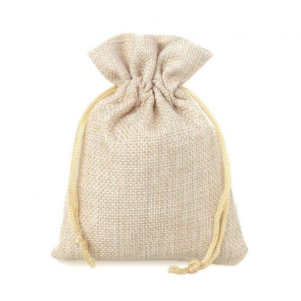 Săculeți textil dreptunghiulari - bej - craftup.ro