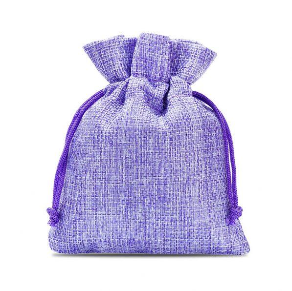 Săculeți textil dreptunghiulari - mov - craftup.ro