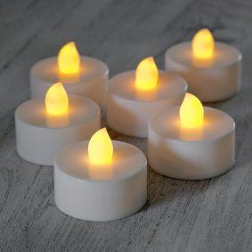 Lumanari LED rotunde - LUMR4 - craftup.ro