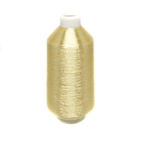 Ață de brodat metalizată - auriu deschis 2 - craftup.ro