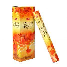 Betisoare parfumate HEM - AMBER HONEY - craftup.ro