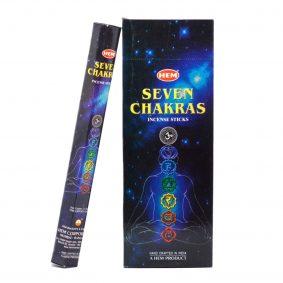 Bețișoare parfumate HEM - Seven Chakras