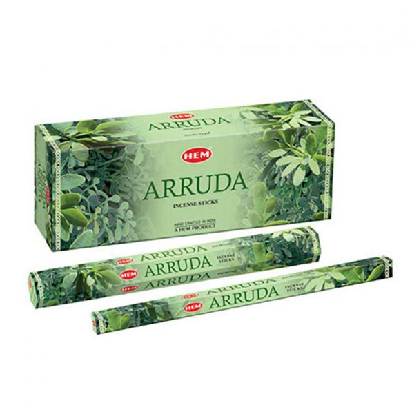Betisoare parfumate HEM - ARRUDA - craftup.ro