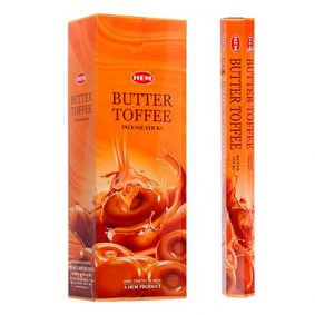 Betisoare parfumate HEM - BUTTER TOFFEE - craftup.ro