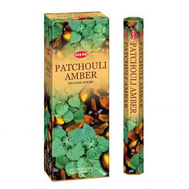Betisoare parfumate HEM - PATCHOULI AMBER - craftup.ro