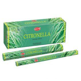 Betisoare parfumate HEM - CITRONELLA - craftup.ro