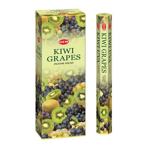 Betisoare parfumate HEM - KIWI GRAPES - craftup.ro