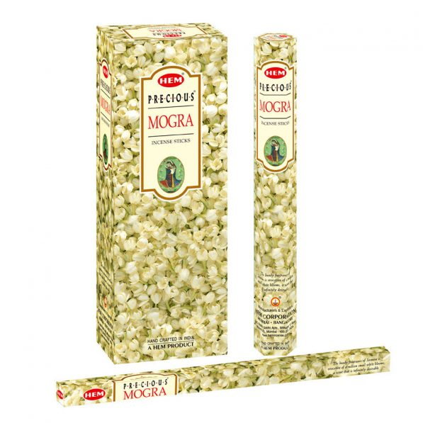 Betisoare parfumate HEM - PRECIOUS MOGRA - craftup