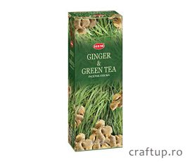 Bețișoare parfumate HEM - Ginger and Green Tea - craftup.ro