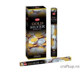 Bețișoare parfumate HEM - Gold and Silver - craftup.ro