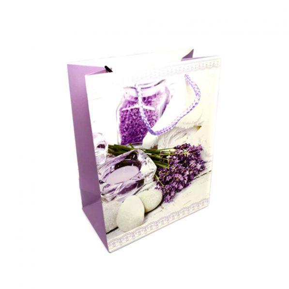 Pungi cadou din hârtie - decorațiuni lavandă - craftup.ro