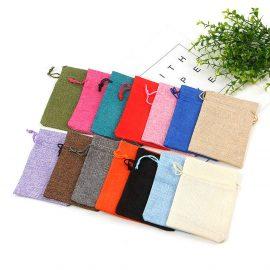 Săculeți textil dreptunghiulari - multicolor - craftup.ro