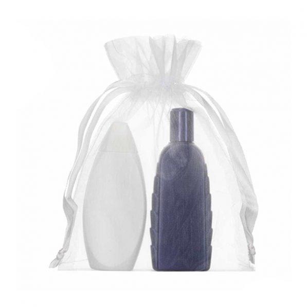 Săculeți organza dreptunghiulari pentru sticle - cosmetice - craftup.ro