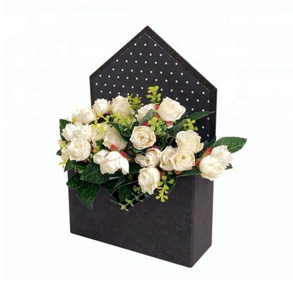 Cutie solidă tip plic - negru - craftup.ro