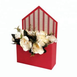 Cutie solidă tip plic - roșu - craftup.ro