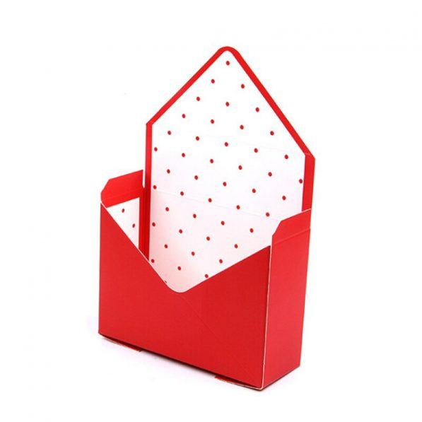 Cutii tip plic - alb roșu - craftup.ro