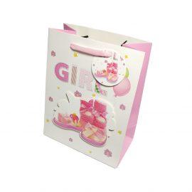 Pungi cadou 3D pentru copii model fetițe pantofiori - craftup.ro