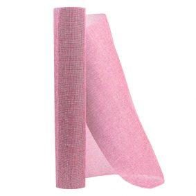 Rolă plasă sac - roz 4 craftup.ro