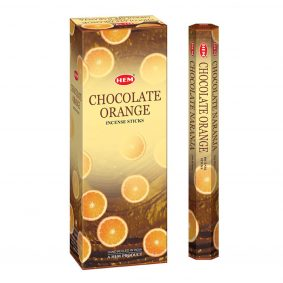 Betisoare parfumate HEM - CHOCOLATE ORANGE - craftup.ro