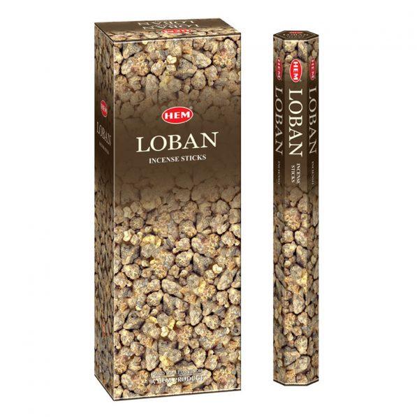 Betisoare parfumate HEM - LOBAN - craftup