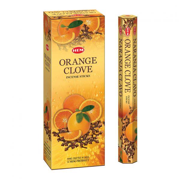 Betisoare parfumate HEM - ORANGE CLOVE - craftup
