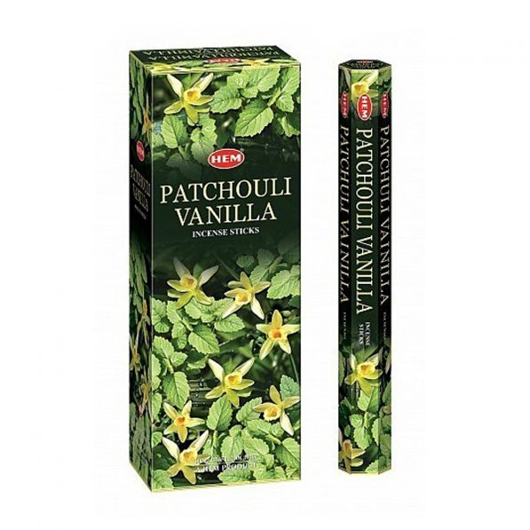 Betisoare parfumate HEM - PATCHOULI VANILLA - craftup.ro