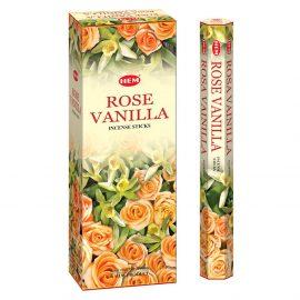 Betisoare parfumate HEM - ROSE VANILLA - craftup.ro