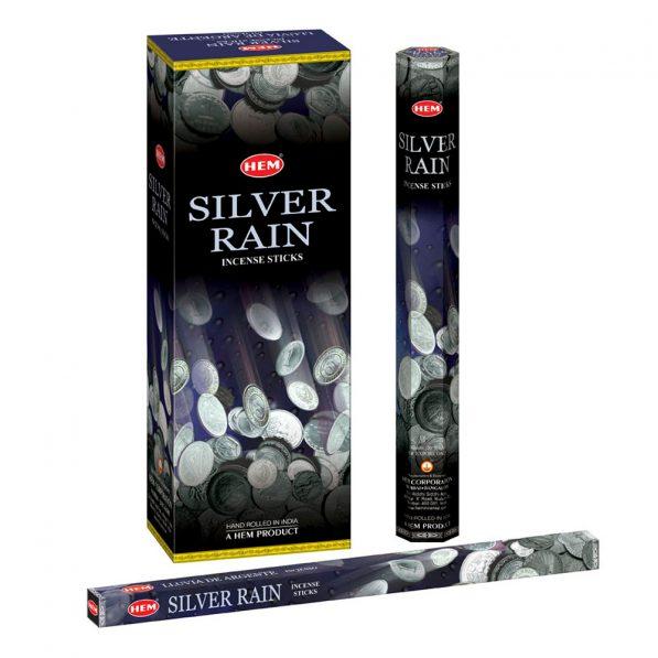 Betisoare parfumate HEM - SILVER RAIN - craftup.ro