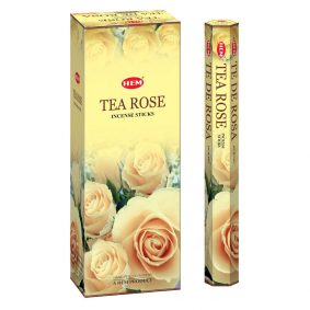 Betisoare parfumate HEM - TEA ROSE - craftup.ro