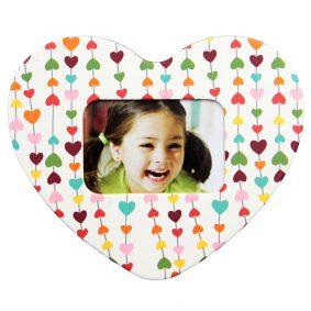 Magnet inimă inserție foto - model inimi