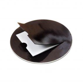 Magnet rotund insertie foto - spate