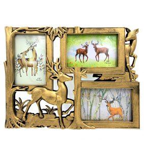 Ramă foto colaj 3 poze - model Deer 1