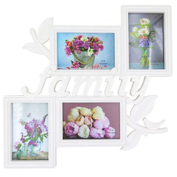Ramă foto colaj 4 poze - model Family 1
