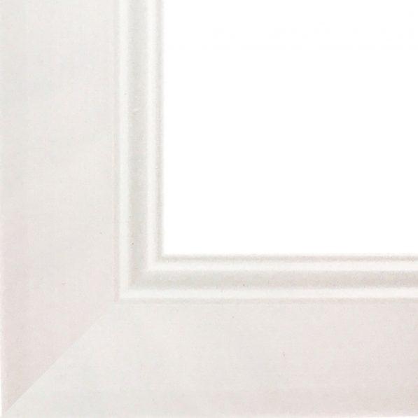 Ramă foto A4 - model Madrid alb 2