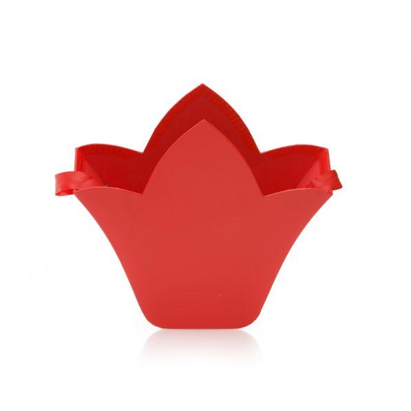 Cutie fleur de lis - roșu 2 - craftup.ro