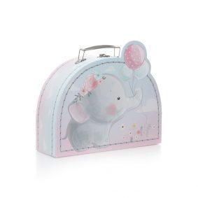 Set 2 cutii pentru copii - model elefant 2 - craftup.ro